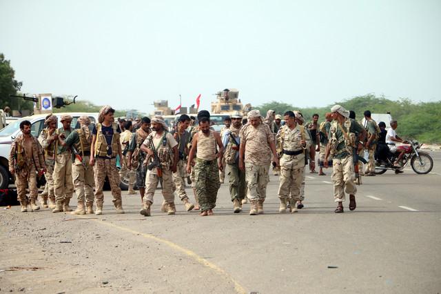 Jemenska vojska i saudijska koalicija