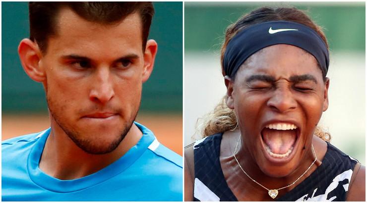 Serena Vilijams i Dominik Tim