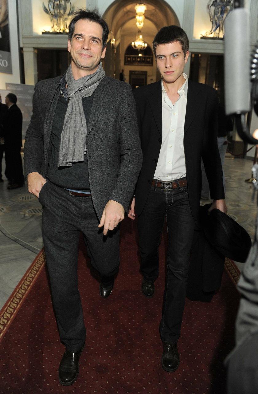 Paweł Deląg a synem