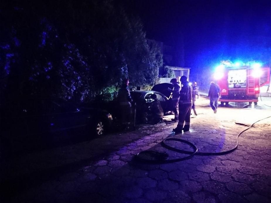 Auta w Bielsku-Białej zostały podpalone?