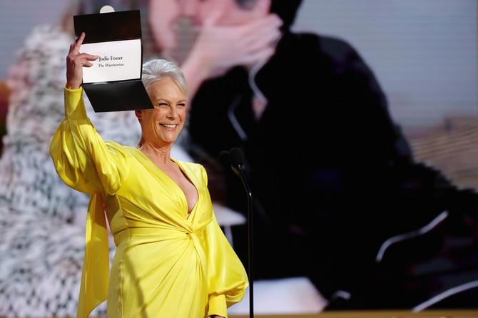 Džejmi Li Kertis na dodeli Zlatnog globusa
