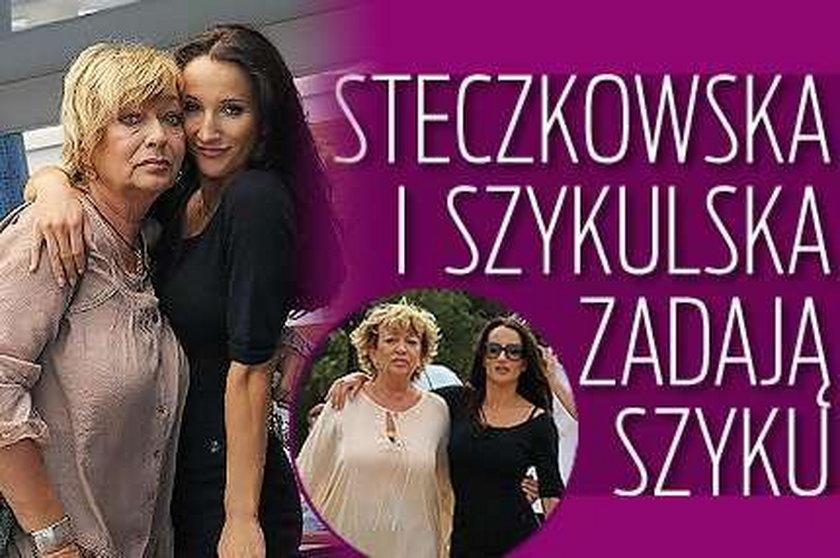 Szyk Szykulskiej u Steczkowskiej