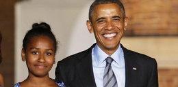 Córka Obamy ma 13 lat, a już jest prawie taka jak jej ojciec!