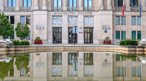 Gmach Ministerstwa Finansów w Warszawie