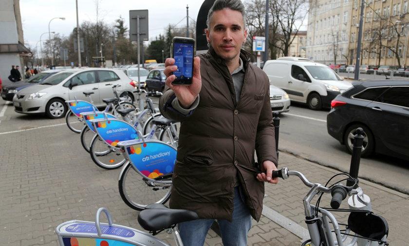 Rower wypożyczysz przez aplikację