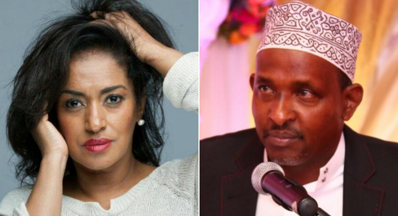 Majority Leader Aden Duale caught off-guard checking out Nairobi Woman Representative Esther Passaris as she walked into Parliament chambers