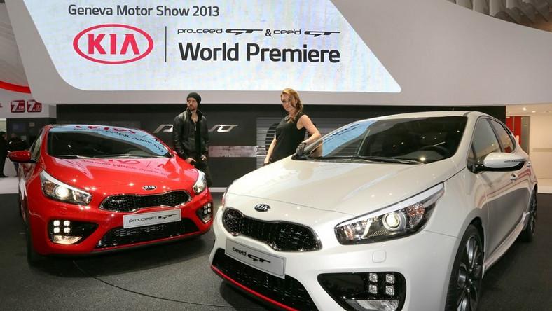 W Kia w drugiej połowie 2013 roku oficjalnie zadebiutuje w klasie golfa GTI i innych z gangu szybkich i wściekłych. Jednak zanim to nastąpi wystawia na próbę ognia limitowaną serię modelu pro_cee'd GT 1st Edition – powstanie tylko 500 sztuk tego auta w jednym tylko białym, trójwarstwowym kolorze nadwozia Tri-coat White urozmaiconym czerwoną aplikacją poniżej przedniego wlotu powietrza. Właśnie tym autem koreański producent pochwalił się w Genewie. Pierwsi chętni na ten samochód mogą składać zamówienia od 1 kwietnia 2013 roku... Co pod maską?