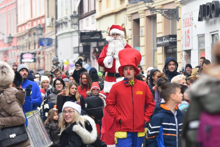 Doček dečije Nove godine u Novom Sadu