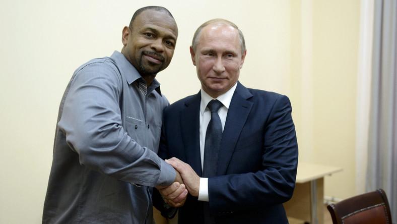 Roy Jones i Władimir Putin