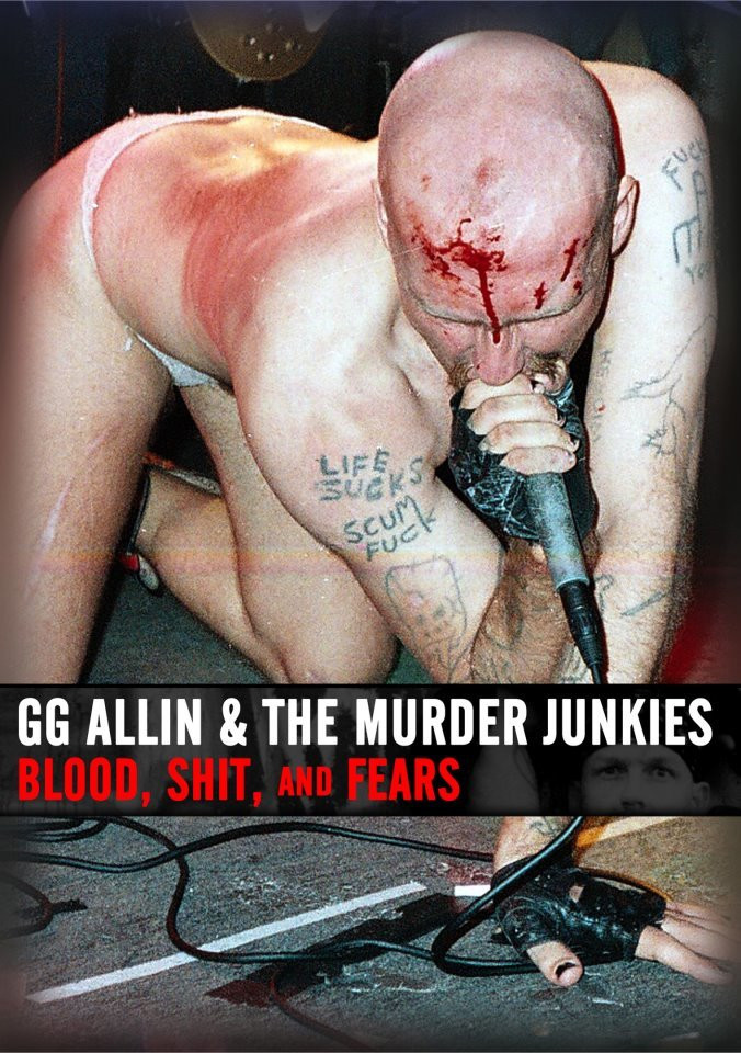 GG Allin (fot. www.facebook.com/ggallinofficial)
