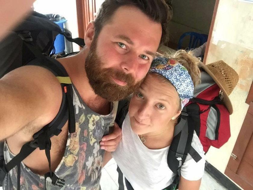Lara Gessler i mąż Paweł Rucz
