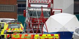 Makabryczne odkrycie w ciężarówce. Zarzut zabójstwa 39 osób!