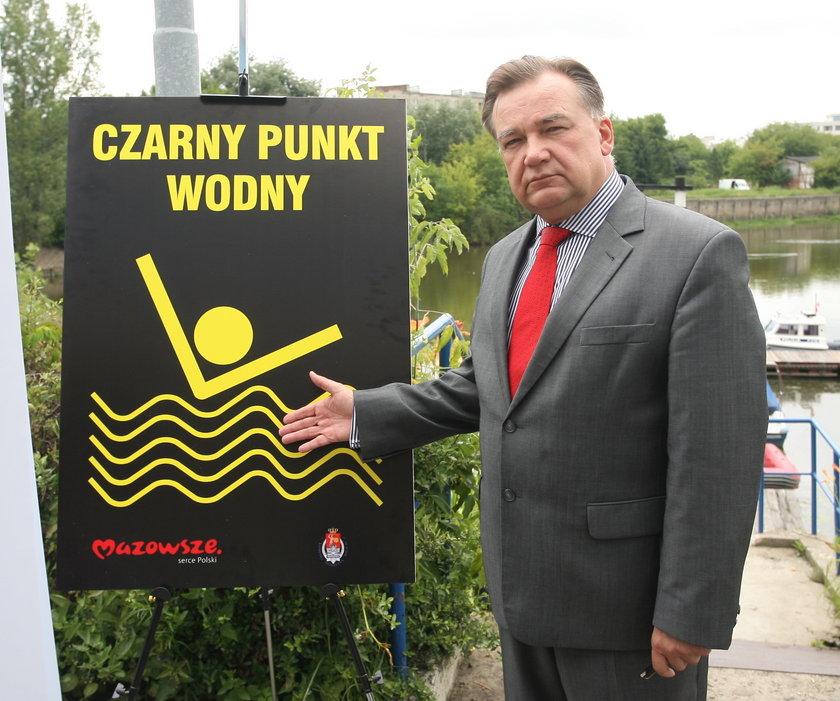 Czarne punkty w Warszawie