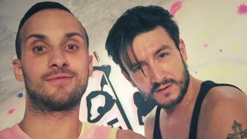 Damian Kutryb i Michał Kwiatkowski