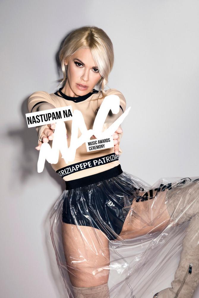 Nataša Bekvalac najavila spektakl na Music Awards Ceremony