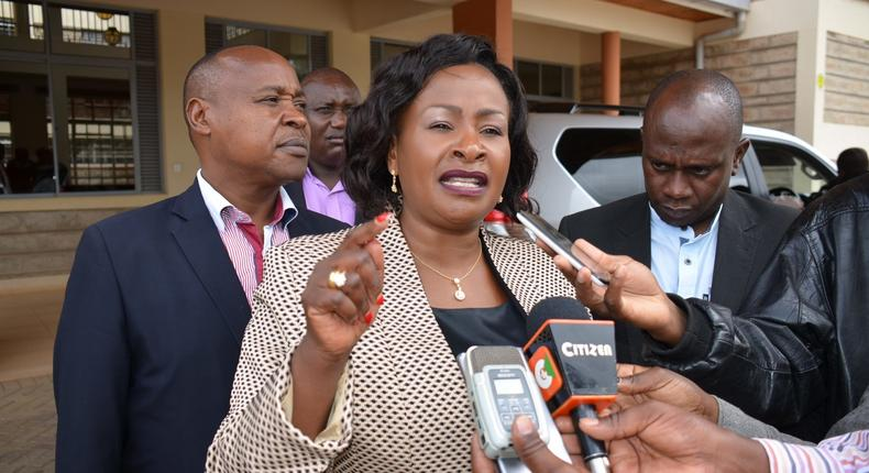 Wavinya Ndeti's moving message after landing second Presidential appointment
