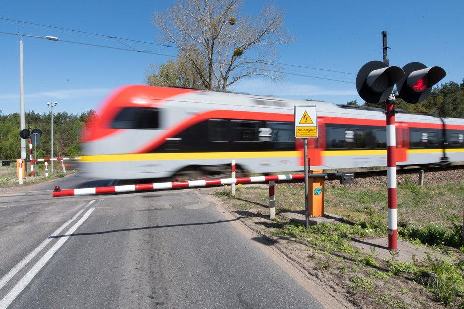 PKP Pociąg Przejazd kolejowy