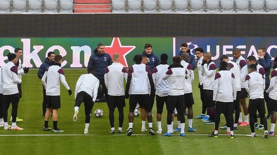 PSG w trakcie treningu, 6.04.2021 r.