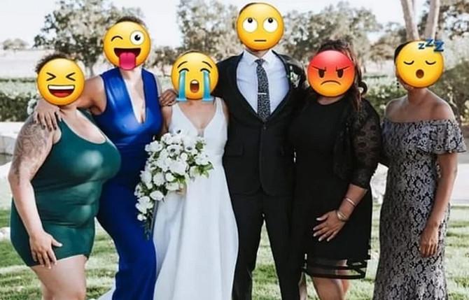 Fotografija sa venčanja koju će večno pamtiti