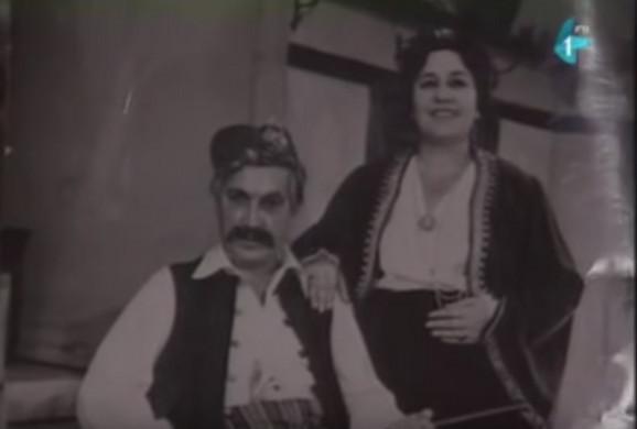 Radmila Savićević sa suprugom