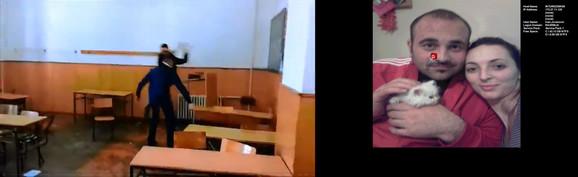 Klupe : Prevrtali su klupe i lomili stolice u praznoj učionici, njišući se u ritmu muzike