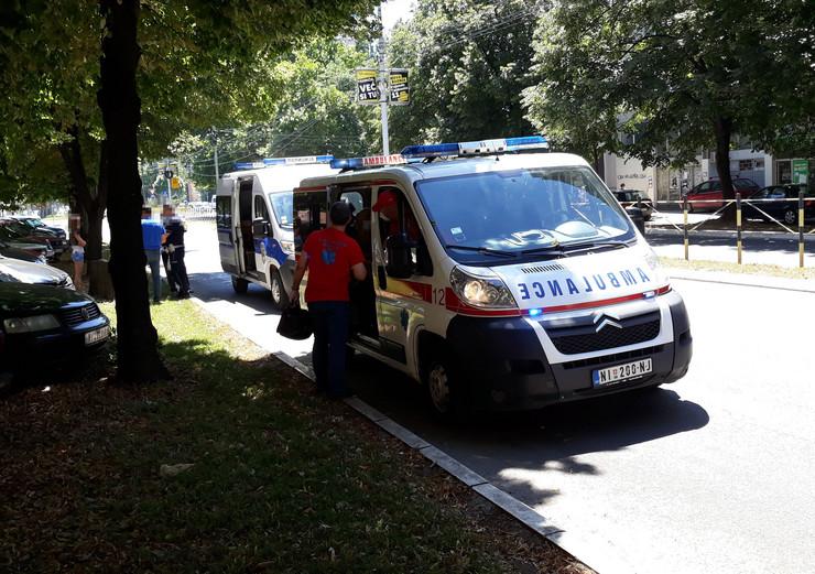 Hitna pomoć ukazala pomoć povređenim putnicima
