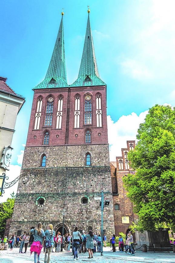 Crkva svetog Nikole smeštena je u starom delu Berlina