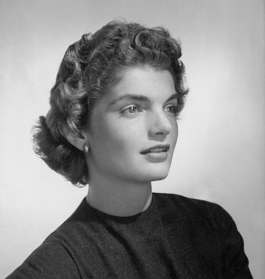 Jacqueline Lee Bouvier (aka Jacqueline Kennedy Onassis), 1953. / (Photo by Horst P. Horst/Condé Nast via Getty Images)