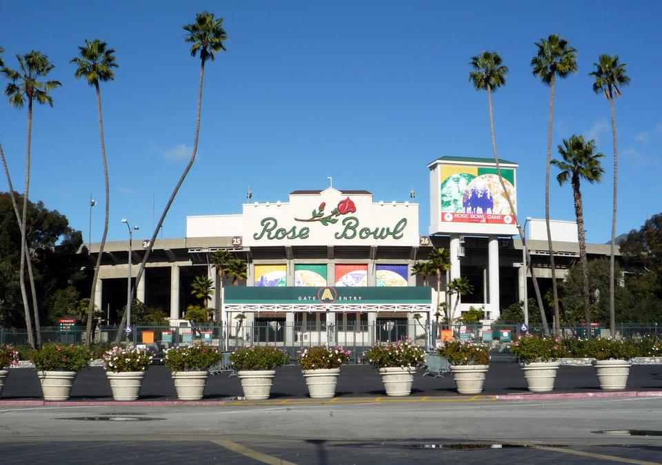 6. Stadion Rose Bowl, Pasadena, USA