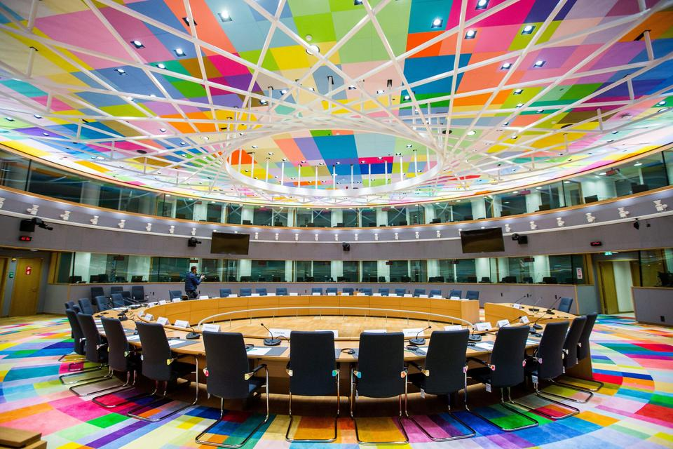 New EU council headquarters Europa