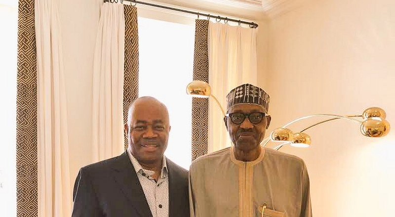PDP can't understand why Buhari is silent as Akpabio gets dragged for sexual harassment