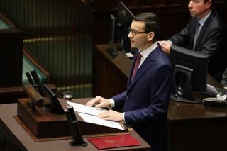 Morawiecki: Nie będziemy rządem ideologicznych skrajności