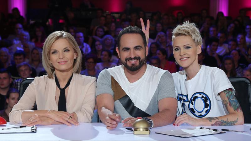 """Agnieszka Chylińska na castingach do """"Mam talent 9"""""""