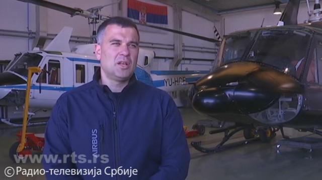 Nenad Nedić, komandant helikopterske jedinica MUP-a