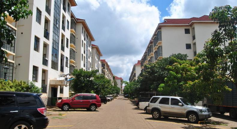 File image of Jacaranda Gardens Estate along Kamiti Road in Roysambu Sub-County