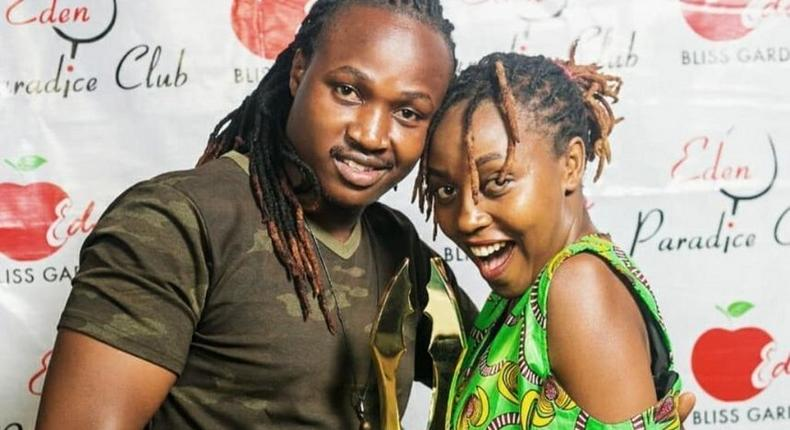 Nyce and Wagithomo during happier times (Courtesy)