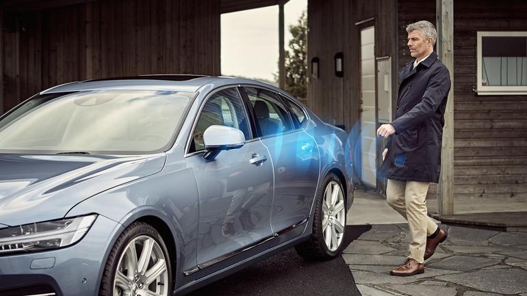 Nowy projekt Volvo – smartfon zamiast kluczyka