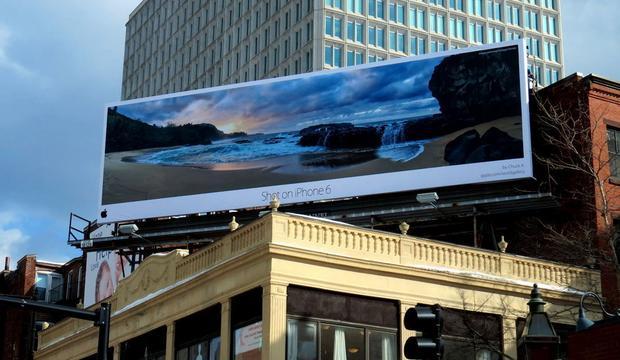 "Kampania outdoorowa ""Shot on iPhone 6"", fot. youthephotographer.cc"