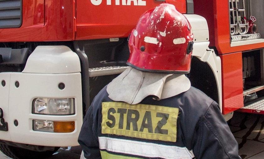 Spłonął budynek jednorodzinny w Kołobrzegu