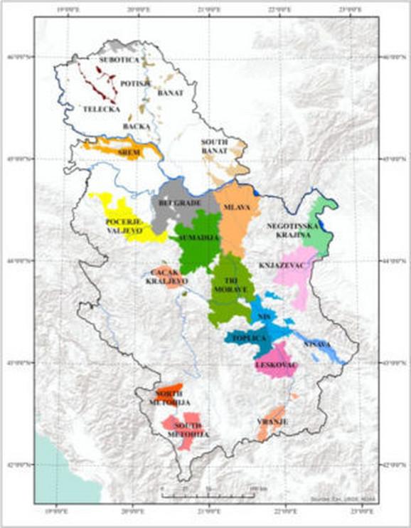 Vinogradarski rejoni
