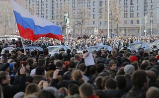 Rosja: Policja zatrzymała Aleksieja Nawalnego na demonstracji w Moskwie