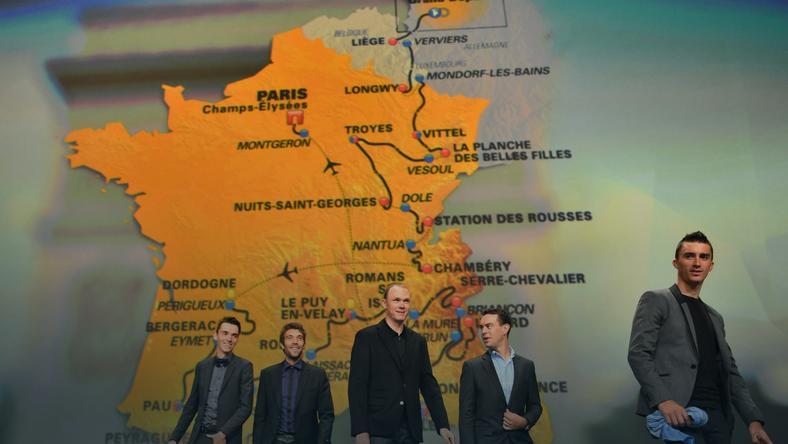 Prezentacja trasy Tour de France