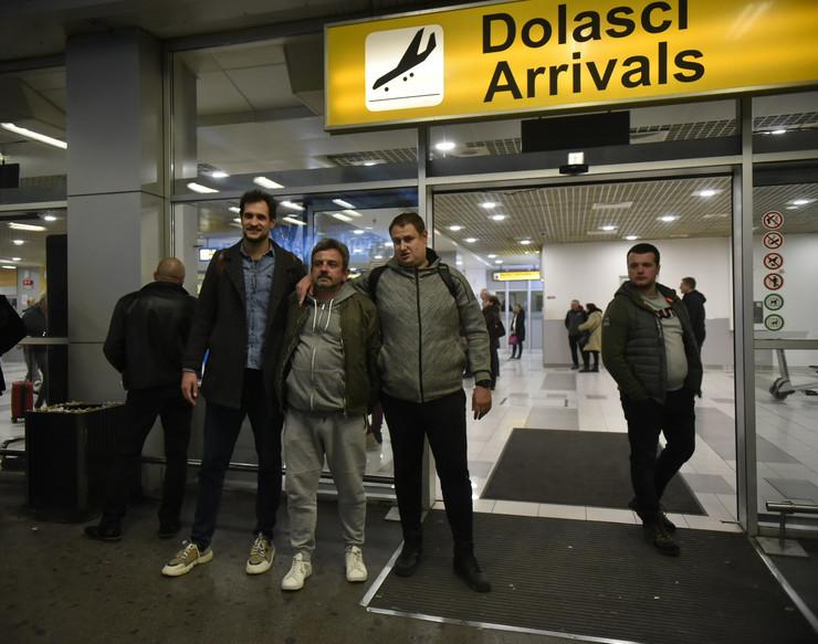 Aerodrom  Srbi evakuisani iz Vuhana