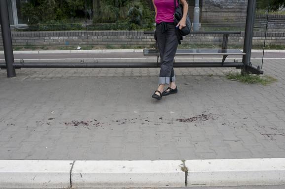 Krvave mrlje na stanici
