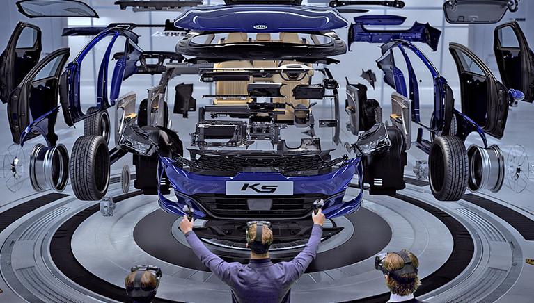 Kia K5 to pierwsze auto zaprojektowane wirtualnie
