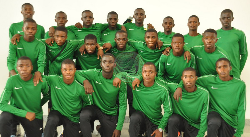 Golden Eaglets of Nigeria jet off to Tanzania for U17 AFCON