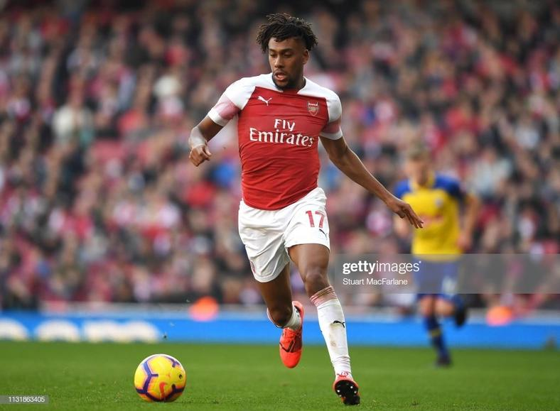 Alex Iwobi (Stuart MacFarlane/Arsenal FC via Getty Images)