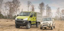 Suzuki Jimny kontra Iveco Daily 4x4