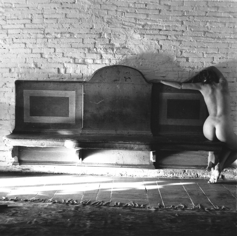 "Francesca Woodman, ""November has been a slightly uncomfortable baroque"", 1977-78. Courtesy Charles Woodman, and Victoria Miro, London/Venice"