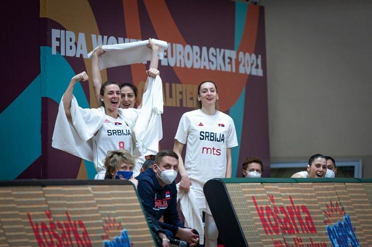 Ženska košarkaška repretzentacija Srbije